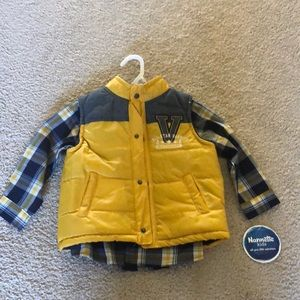 Other - NWT 3T button down & vest